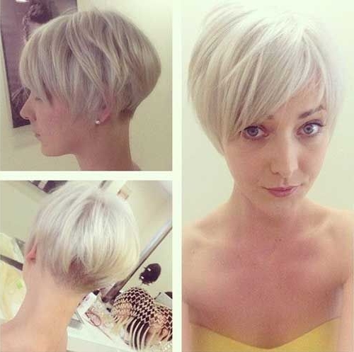 Pin On Bowl Cuts with regard to Blonde Undercut Bob Hairstyles