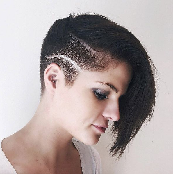 Pin On Covet - Hair for Most Up-to-Date Smooth Shave Pixie Haircuts