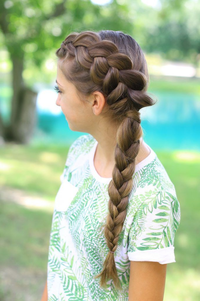 Pin On Cute Girls Hairstyles {Photos} pertaining to Most Popular Side Dutch Braid Hairstyles