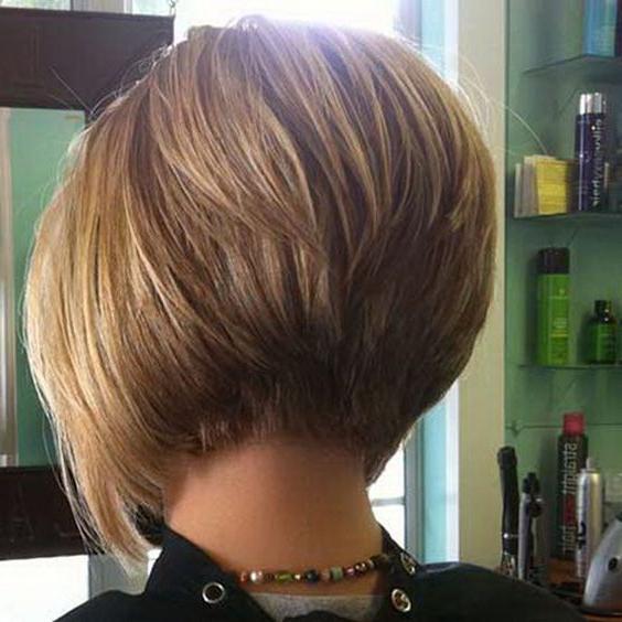 Pin On ???? Regarding Short Stacked Bob Hairstyles (View 3 of 25)