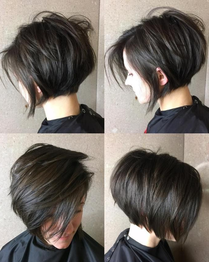 Pin On For Me within A Very Short Layered Bob Hairstyles