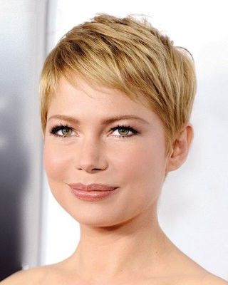 Pin On Future Hair With Most Recent Michelle Williams Pixie Haircuts (View 5 of 25)