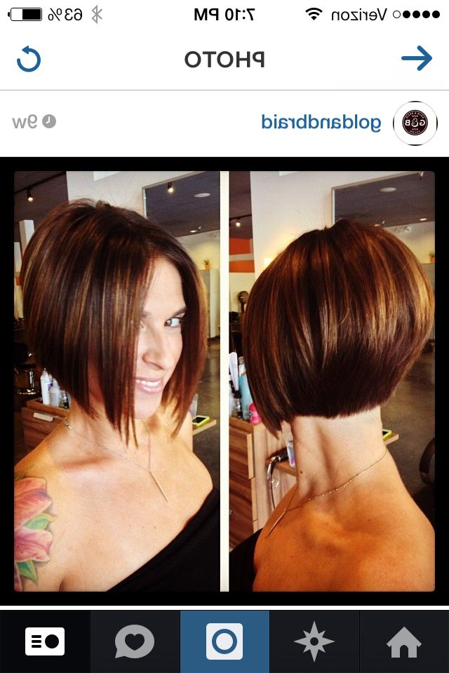 Pin On G&b throughout Sassy A-Line Bob Hairstyles