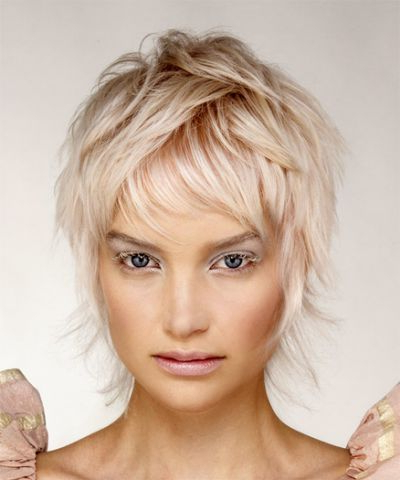 Pin On Gray Haircut throughout Most Up-to-Date Short Shaggy Pixie Hairstyles