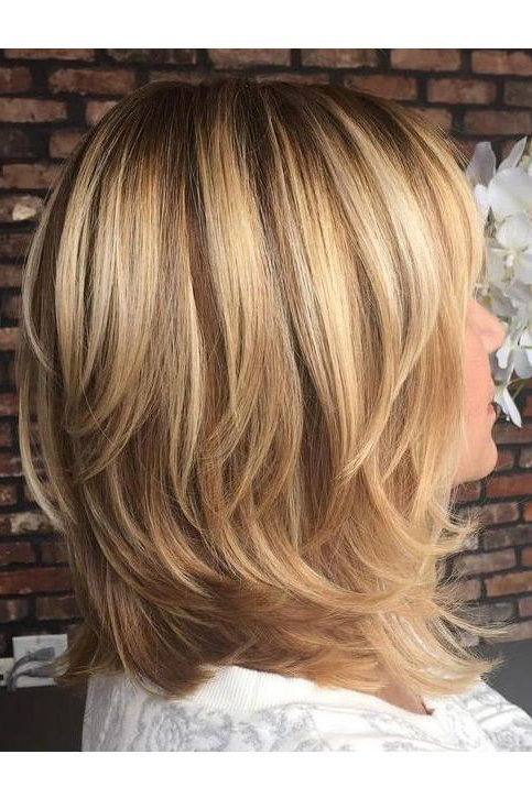 Pin On Hair And Beauty inside Flippy Layers Hairstyles