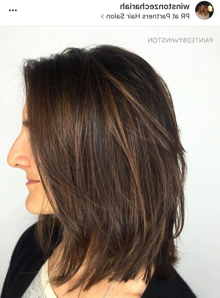 Pin On Hair Color Ideas pertaining to Versatile Lob Bob Hairstyles