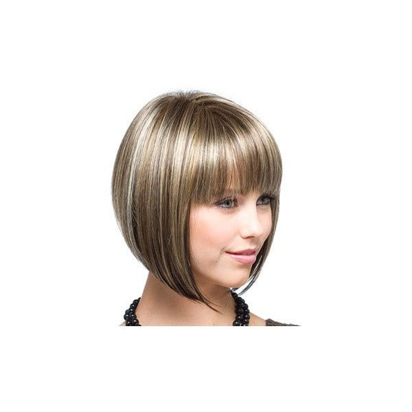 Pin On Hair Color within Sharp And Blunt Bob Hairstyles With Bangs