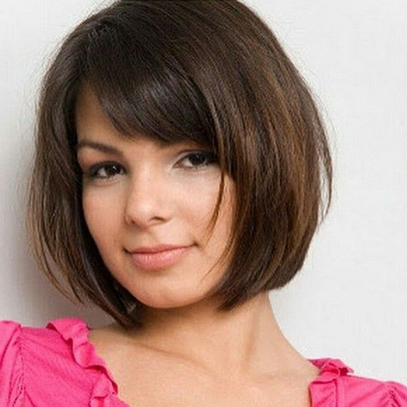 Pin On Hair Cuts With Regard To Bob Hairstyles For A Chubby Face (View 8 of 25)