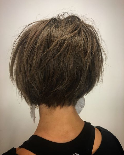 Pin On Hair Cuts With Textured And Layered Graduated Bob Hairstyles (View 5 of 26)