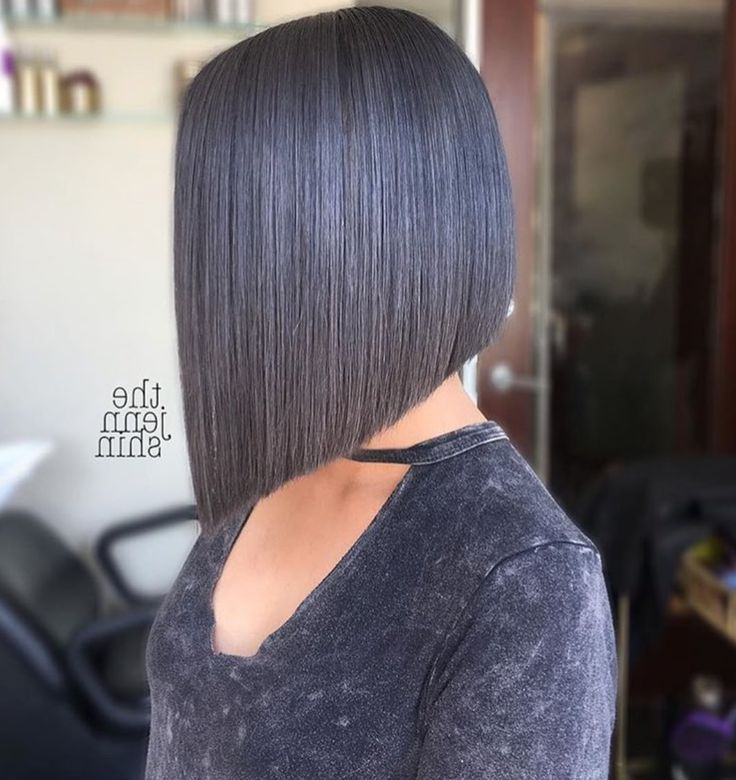 Pin On Hair Fab throughout Sleek Blunt Bob Hairstyles