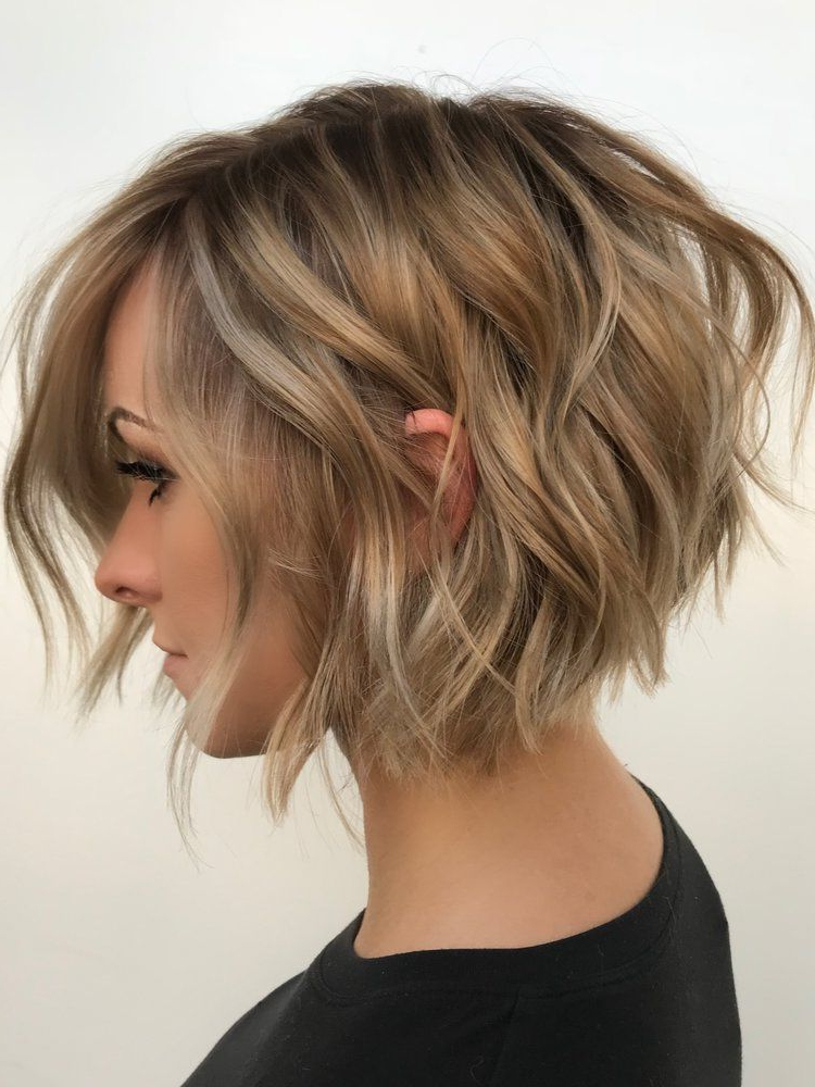 Pin On Hair - Growing Out A Pixie with regard to Texturized Tousled Bob Hairstyles