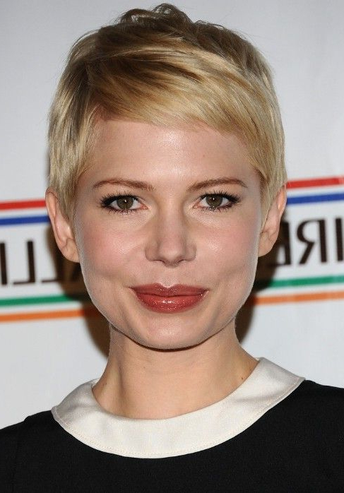 Pin On Hair I Like Intended For Most Recent Michelle Williams Pixie Haircuts (View 23 of 25)
