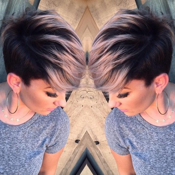 Pin On Hair Ideas for Most Current Smokey Pastel Colors Pixie Haircuts