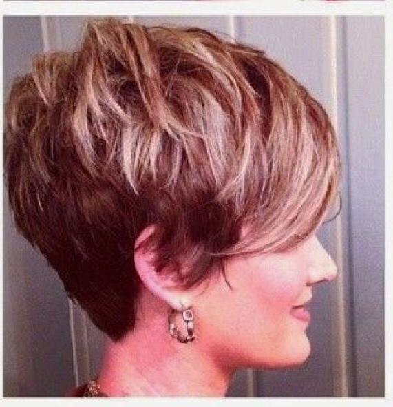 Pin On Hair Ideas inside Latest Shattered Choppy Bangs Pixie Haircuts