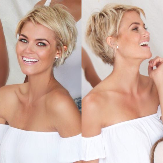 Pin On Hair Ideas Pertaining To Short Choppy Layers Pixie Bob Hairstyles (View 11 of 25)