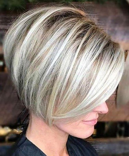 Pin On Hair in Blonde Undercut Bob Hairstyles