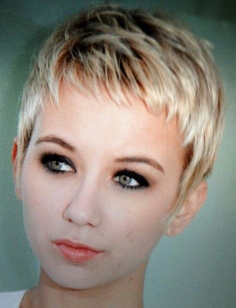 Pin On Hair, Nails & Make-Up within Most Current Sassy Short Pixie Haircuts With Bangs