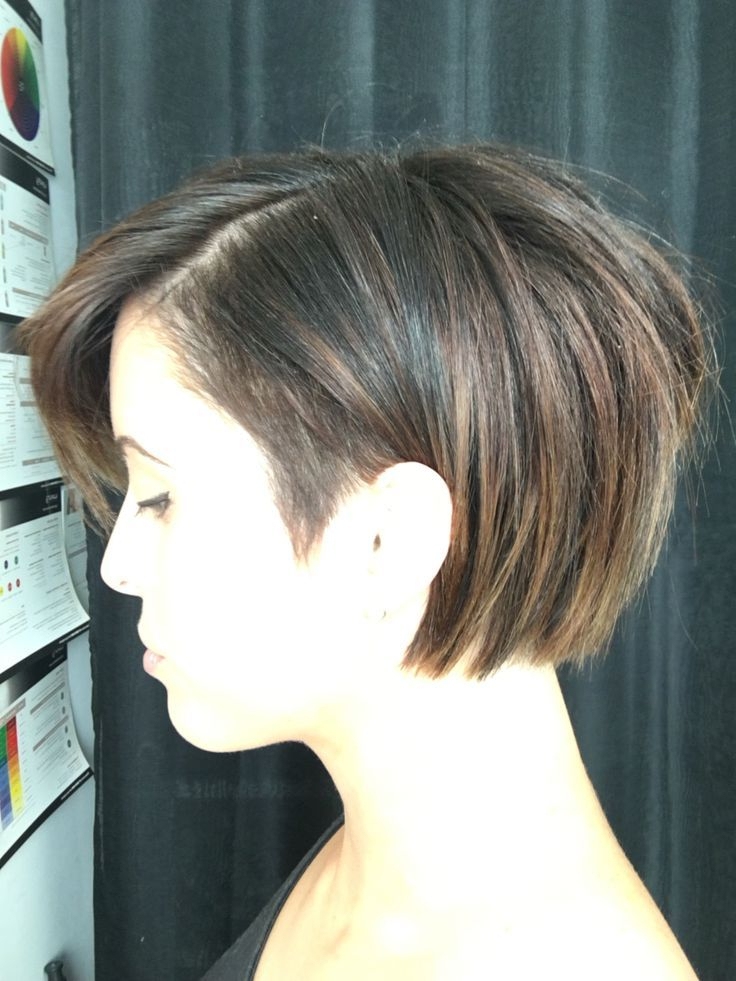 Pin On Hair Pertaining To Blonde Undercut Bob Hairstyles (View 7 of 25)