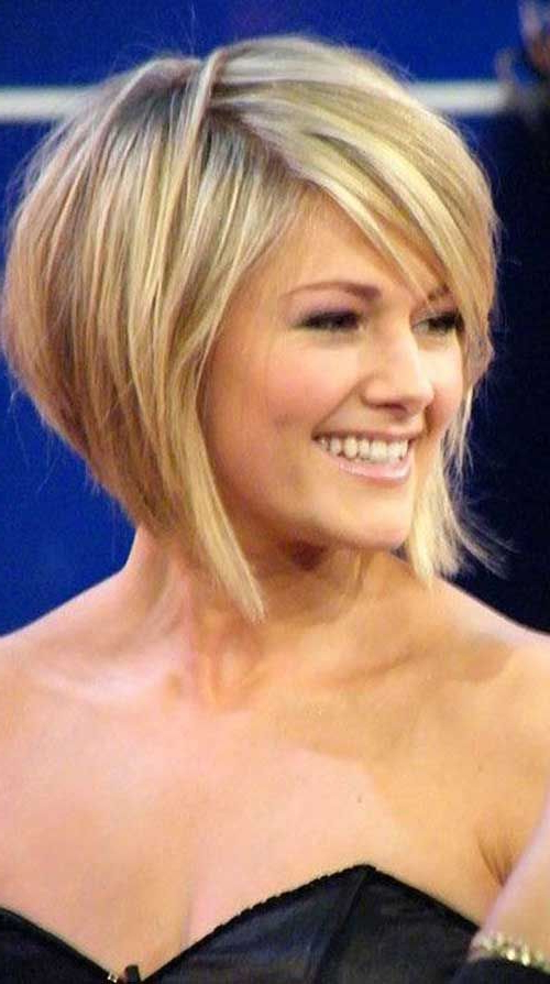 Pin On Hair pertaining to Rounded Short Bob Hairstyles