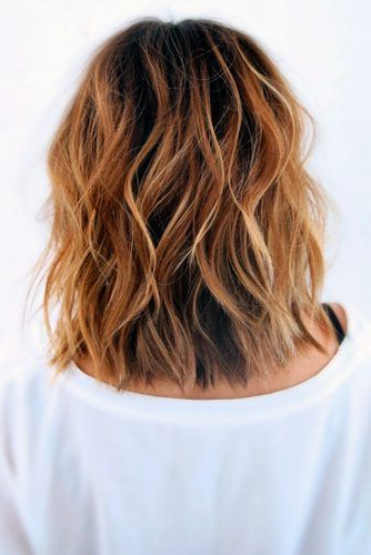 Pin On Hair regarding Mid-Length Beach Waves Hairstyles