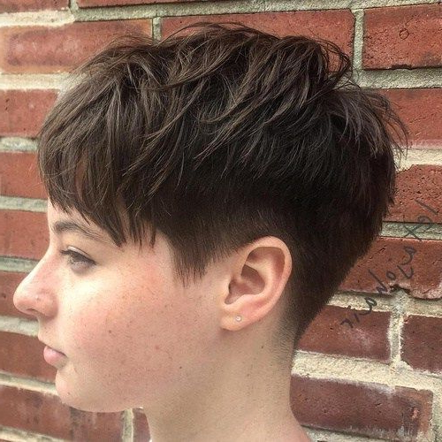 Featured Photo of Pixie Haircuts For Round Face
