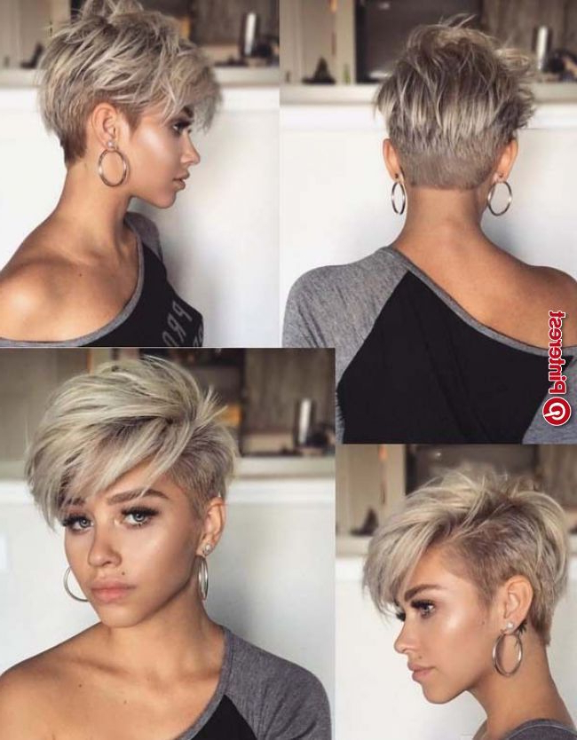 Pin On Hair throughout Recent Edgy Pixie Haircuts