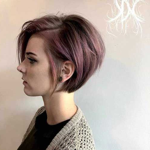 Pin On Hair with regard to Short Choppy Layers Pixie Bob Hairstyles