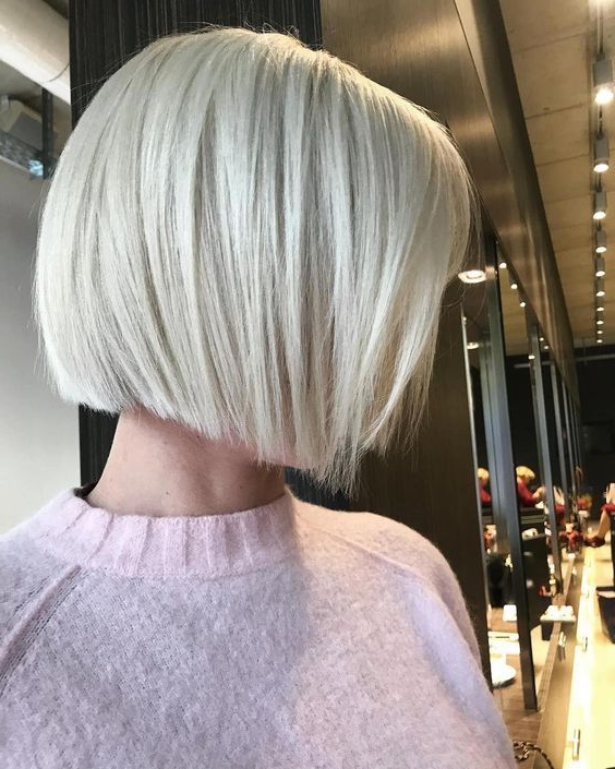 Pin On Hair with Sassy Angled Blonde Bob Hairstyles