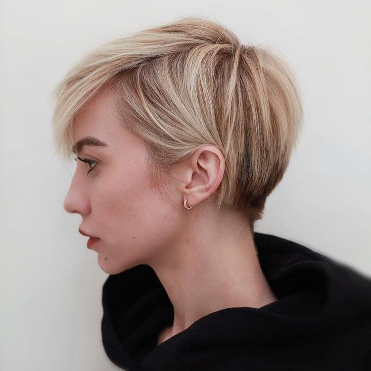 Pin On Hair within Latest Disconnected Pixie Haircuts For Fine Hair