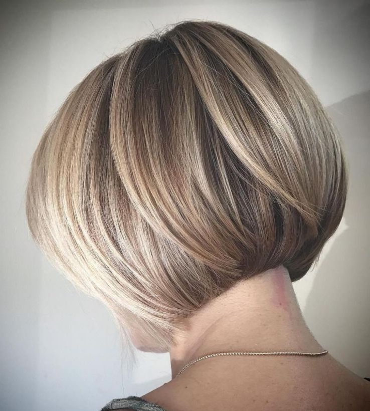 Pin On Haircuts throughout Rounded Sleek Bob Hairstyles With Minimal Layers