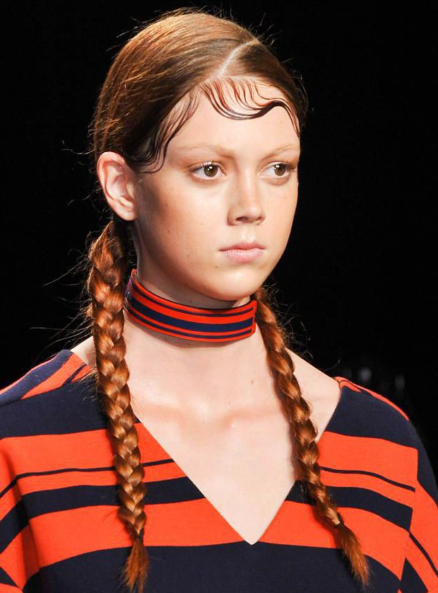 Pin On Hairstyle with regard to Newest Slicking Down Braids Hairstyles