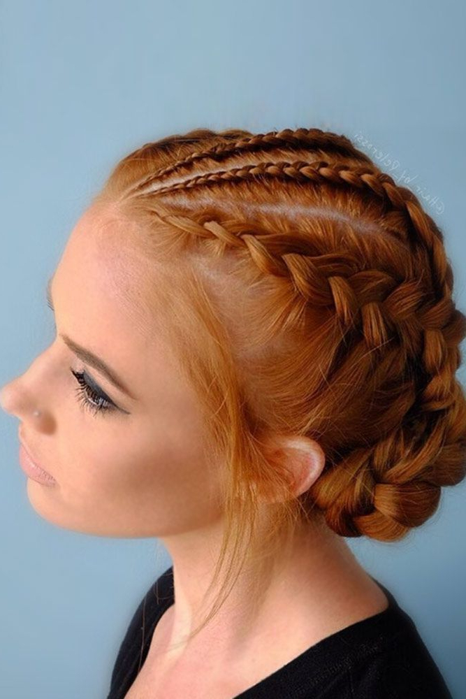 Pin On Hairstyles I Love with Current Asymmetrical French Braid Hairstyles