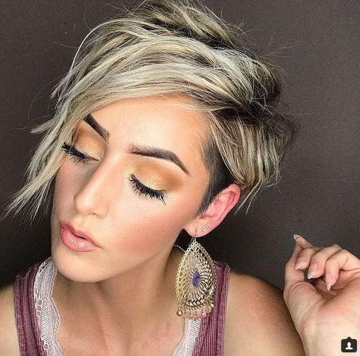 Pin On Hairstyles with Most Recently Edgy Messy Pixie Haircuts