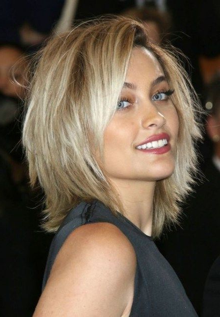 Featured Photo of Perfect Shaggy Bob Hairstyles For Thin Hair