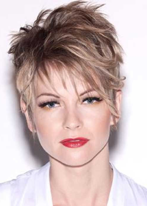 Pin On Life Is An Ongoing Book intended for Newest Super Short Shag Pixie Haircuts