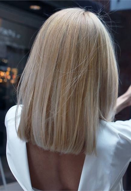 Pin On One Length within One Length Short Blonde Bob Hairstyles