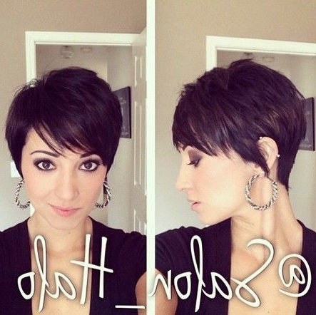 Pin On Pixie Cuteness for Current Plum Brown Pixie Haircuts For Naturally Curly Hair