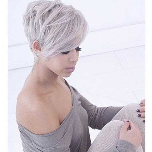 Pin On Pixie Haircut For Round Faces Inside Most Popular Pixie Haircuts For Round Face (View 7 of 25)