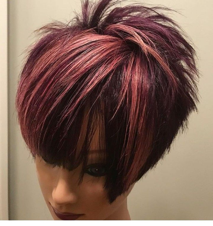 Pin On Pixie Haircuts With Regard To Most Popular Pageboy Maroon Red Pixie Haircuts (View 3 of 25)