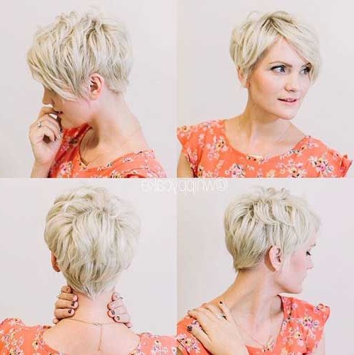 Pin On Pixie with Most Popular Flipped Up Platinum Blonde Pixie Haircuts