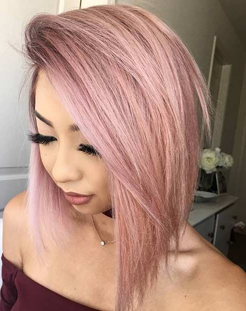 Pin On Rosegold Hairstyle With Most Recent Edgy Textured Pixie Haircuts With Rose Gold Color (View 12 of 25)