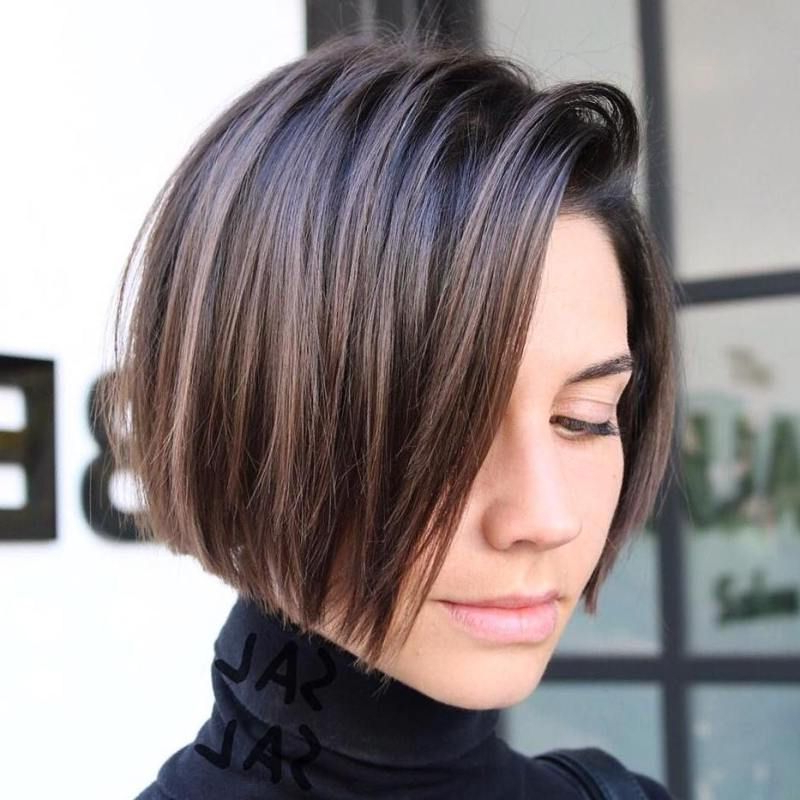 Pin On Sexy And Fantastic Hair Cuts For The Over 50 Traveler Regarding Jaw Length Short Bob Hairstyles For Fine Hair (View 5 of 25)