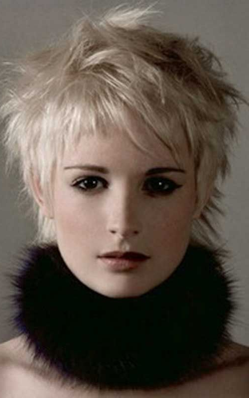 Pin On Shaggy Pixie pertaining to 2018 Short Shaggy Pixie Hairstyles