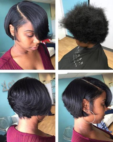 Pin On Short Cuts!! pertaining to Natural Bob Hairstyles