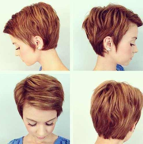 Pin On Short Hair Cuts inside Most Current Short Layered Pixie Haircuts