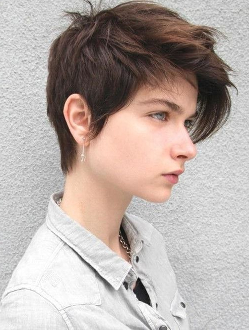 Pin On Short Hair for Current Androgynous Pixie Haircuts