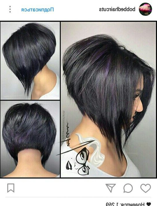 Pin On Short Layered Bobs inside Graduated Angled Bob Hairstyles