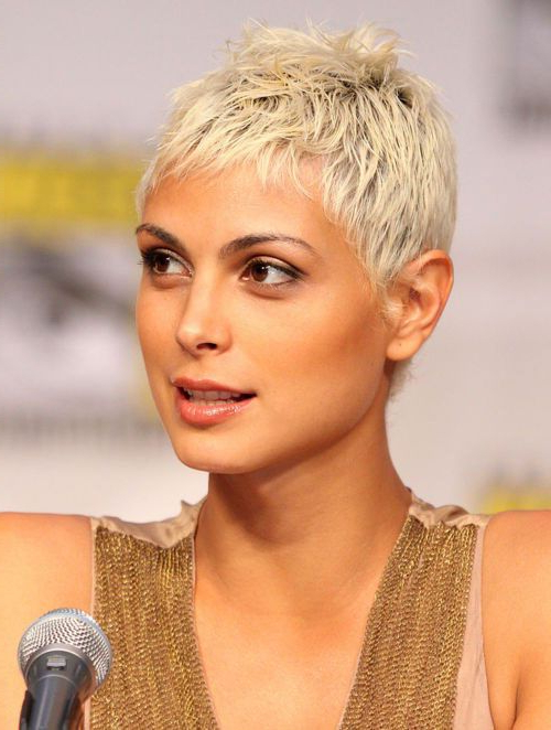 Pin On Short Styles in Recent Morena Pixie Haircuts With Bangs