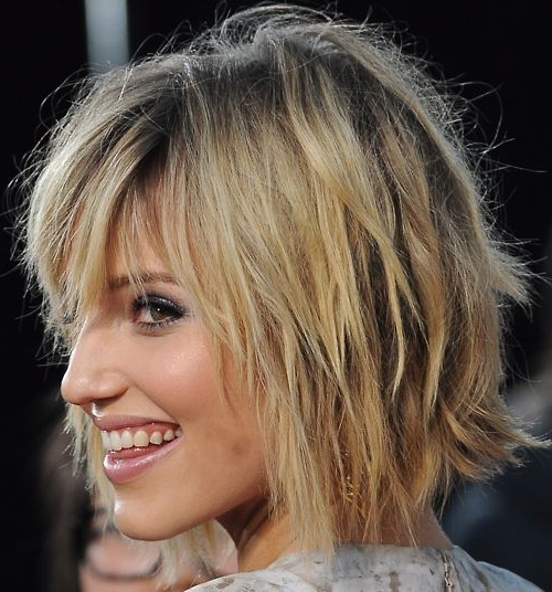 Pin On Style Throughout Shaggy Bob Hairstyles With Choppy Layers (View 7 of 25)