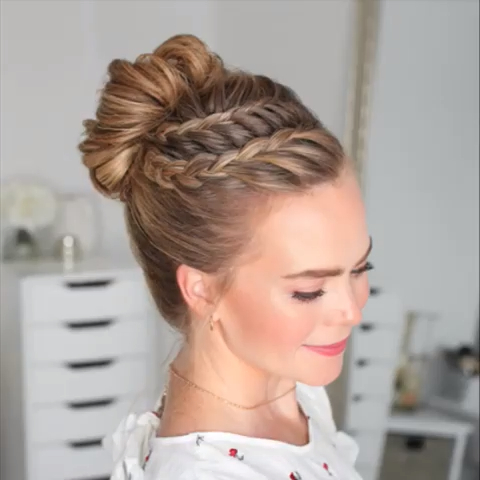 Pin Op Haar Ideeën – Kinderen With Best And Newest Three Strand Pigtails Braid Hairstyles (View 12 of 25)